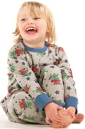 Frugi - Monster Band - pyjama luomupuuvillaa
