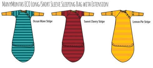 ManyMonths ECO Long/Short Sleeve Sleeping Bag with Extension - UUTUUS!